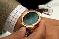 męski zegarek na skórzanym pasku